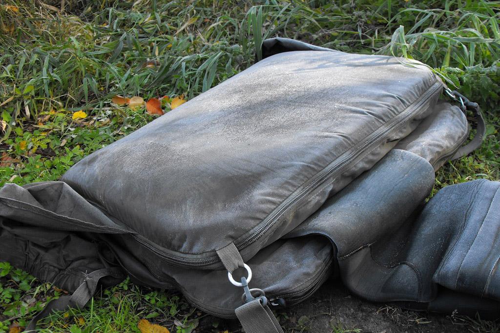 Die Abhakmatte dient als vielseitiges Transportmittel.