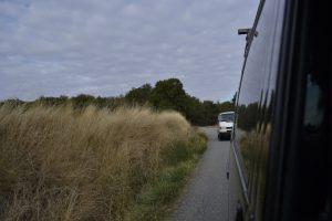 Nach schier endlosen Landstraßen rückte das nächste Ziel langsam näher.